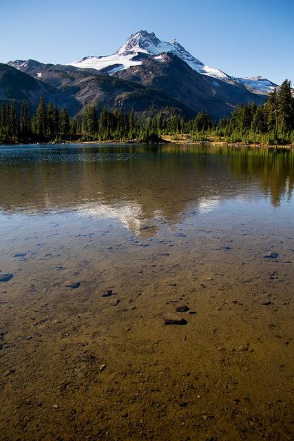 Russell Lake reflection