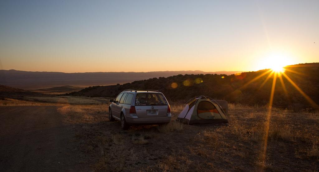 Carrizo Plain campsite